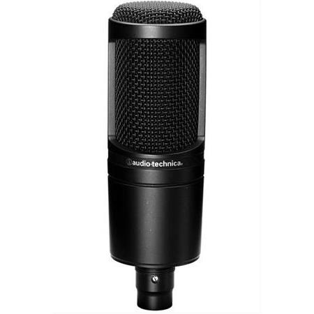 Audio Technica AT2020 Condenser Mikrofon (Filtreli Shock Mount ve Kablo Hediye)